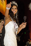 Miss USA 2010. Rima Fakih (Miss Michigan USA) is crowned Miss USA 2010 at the Miss USA pageant held at Planet Hollywood Hotel and Casino in Las Vegas, Nevada Royalty Free Stock Photography