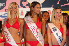Miss World Italy Stock Images