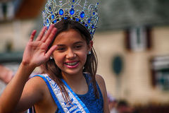 Miss Young West Bend, WI 2015 Stock Images