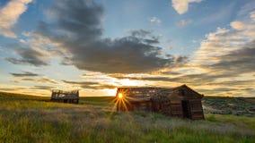 Missa aldrig en solnedgång arkivfoto
