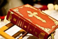 Missal of the Roman Catholic Church royalty free stock image