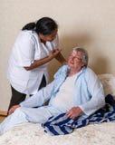 Missbrauchen von älteren Personen Stockbild