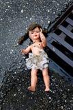 missbrukbarnmistreatment Arkivbilder