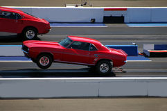 Missed The Hole Shot. A California Dragstrip stock photography
