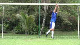 Missed Soccer Goal Stock Images