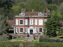 Missenden House an 18th century Georgian property and Grade II listed building royalty free stock photo