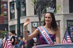 Misser Collegiate America 2011, Shannon Folsom Royalty-vrije Stock Foto's