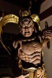 Misshaku Kongo - Muscular guardian of the Buddha. Kongorikishi  or Nio is a wrath-filled and muscular guardian of the Buddha, standing at the entrance of many Royalty Free Stock Photos