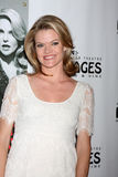 Missi Pyle arrives at the Opening Night of the Play  Royalty Free Stock Image