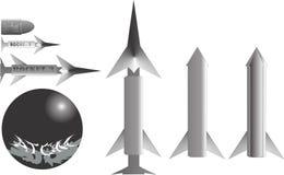 Missil para forças armadas Foto de Stock