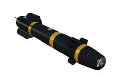 Missile à guidage laser Photos stock
