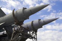 Missile stock photography