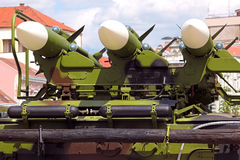 Missile carrier system Stock Image