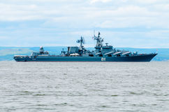 Missile cruiser Stock Images