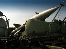 Missile d'avions images stock
