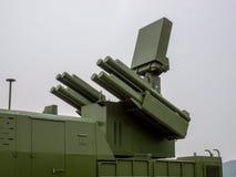 Missile de défense aérien Photo libre de droits