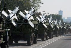 Missile-3 del suelo al aire Imagen de archivo