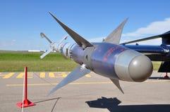 Missile di addestramento dell'aria Fotografie Stock