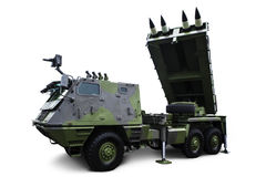 Missile launcher Royalty Free Stock Images