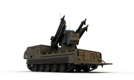 Missile launcher Royalty Free Stock Photography