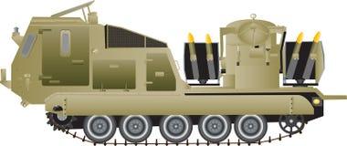 Missile Launching Vehicle Stock Photos