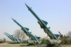 Missile militare Fotografia Stock Libera da Diritti
