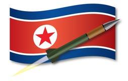 Missile nordcoreano Immagini Stock Libere da Diritti