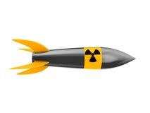 Missile nucléaire Image libre de droits