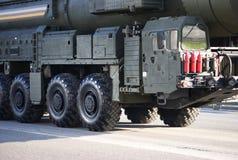 Missile nucleare russo Topol-M Immagine Stock