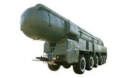 Missile pionieristico RSD-10 isolato Fotografie Stock Libere da Diritti