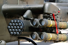 Missile and Rocket launcher Stock Image