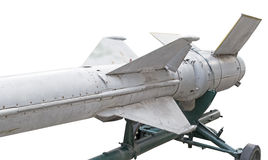 Missile. Russian missiles in a museum royalty free stock photography