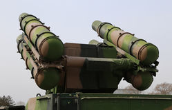 Missile System Stock Image