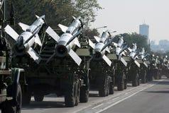 Missile-3 terra-aria Immagine Stock