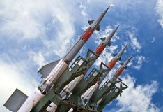 Missile weapons Royalty Free Stock Image
