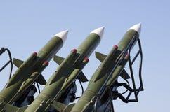 missiler royaltyfri fotografi
