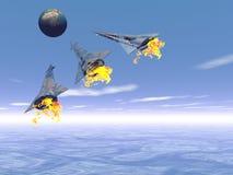 missiles Стоковые Изображения