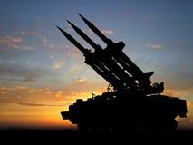 Missiles Images libres de droits