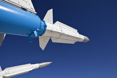 Missiles And Sky Royalty Free Stock Images