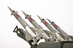 Missiles de combat Photographie stock libre de droits