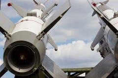 Missiles de croisière sur le lanceur Photos libres de droits
