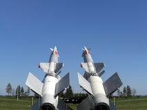 Missiles ready to launch Royalty Free Stock Photo