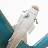 Missiles sur les aéronefs Photo stock