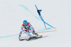 MISSILLIER Steve (FRA). Alta Badia, ITALY 22 December 2013. MISSILLIER Steve (FRA) competing in the Audi FIS Alpine Skiing World Cup MEN'S GIANT SLALOM Royalty Free Stock Images