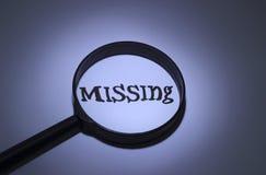 missing vector illustratie