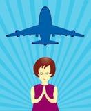 Missing Airplane stock illustration