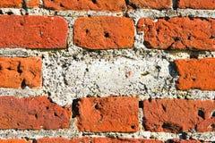 Missing brick Stock Photo