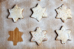 The missing cookie Royalty Free Stock Photography