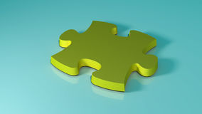 The missing game puzzle piece from your business solution Stock Photography