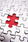 Missing jigsaw piece Stock Photo